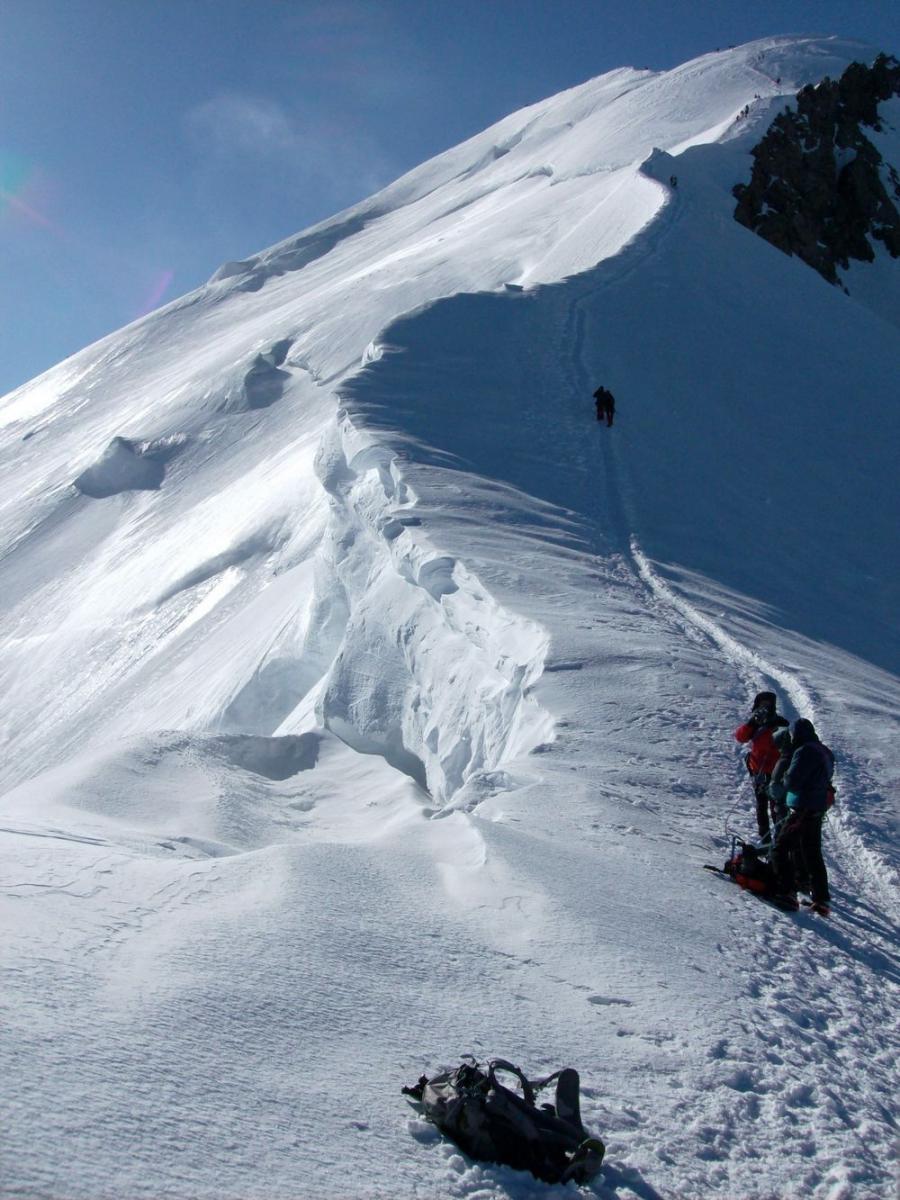 Mont Blanc  4810m  Par L U0026 39 Aiguille Du Go U00fbter Et L U0026 39 Ar U00eate Des