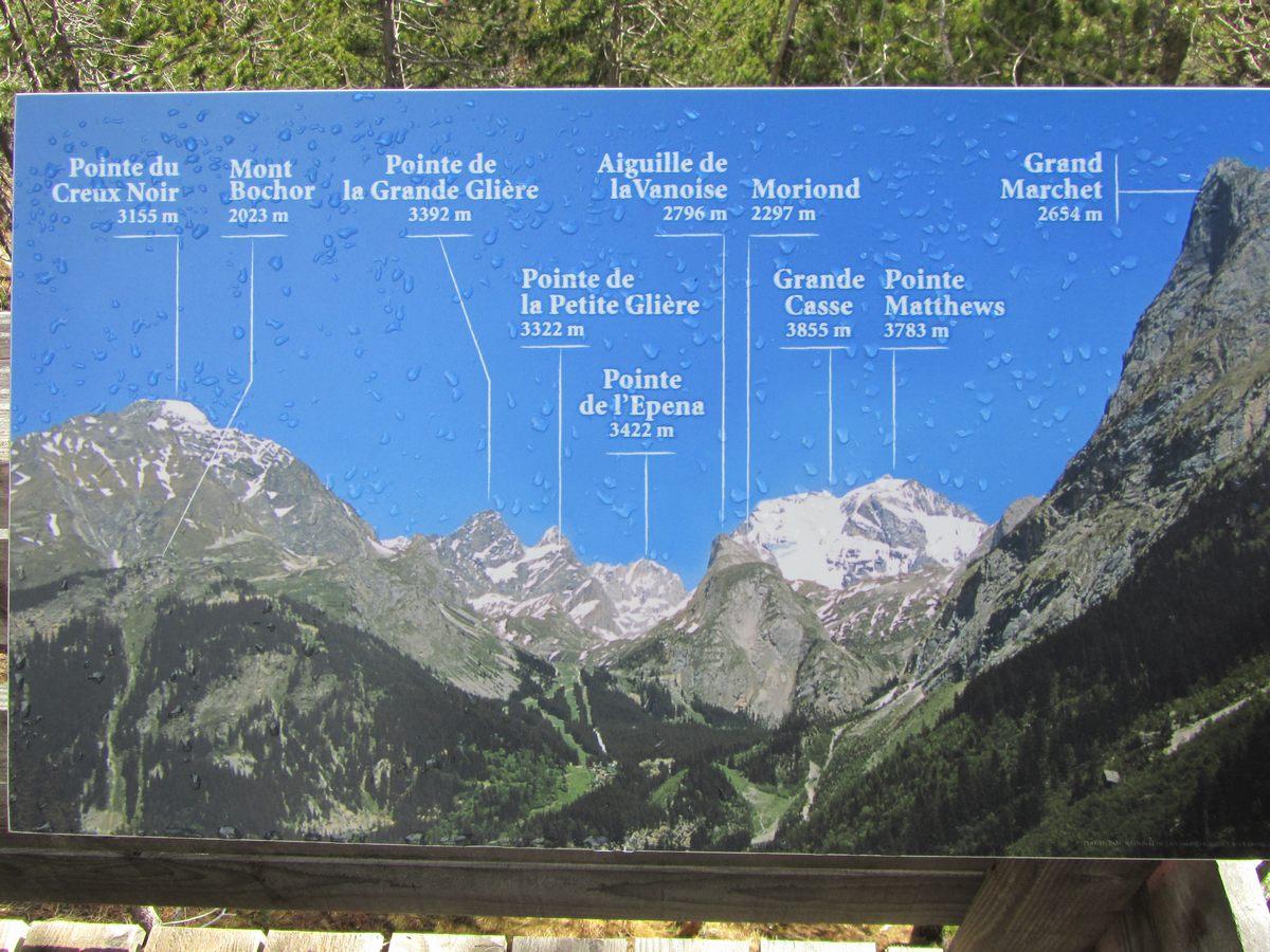 Le sentier du jardin des panoramas de pralognan la vanoise - Les jardins de la vanoise ...
