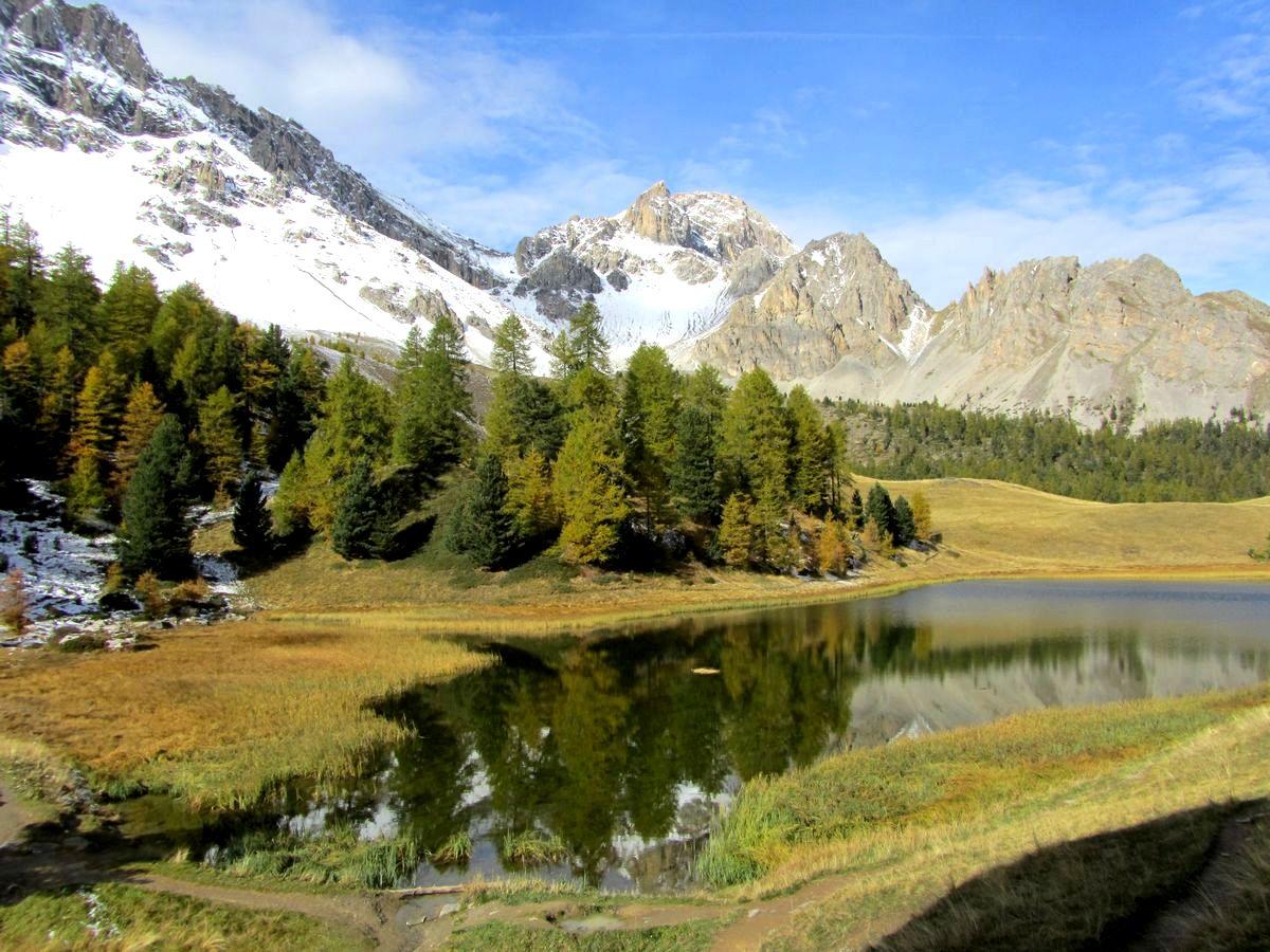 Lac miroir et lac des rouites randonn e queyras sortie for Lac miroir queyras