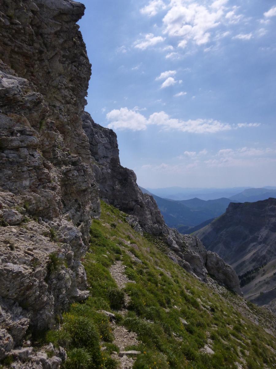 Roc de garnesier ou t te de la plainie 2383m - Doit on dormir la tete au nord ou au sud ...