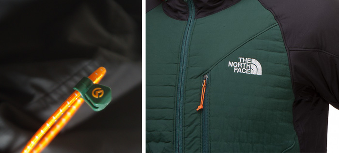 Veste de montagne : la Polar Hooded Jacket de The North Face