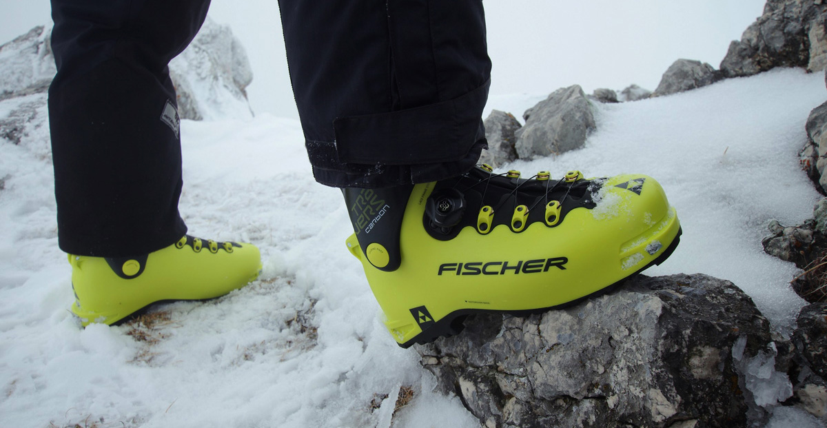 Test chaussures de ski de rando Fisher Travers Carbon