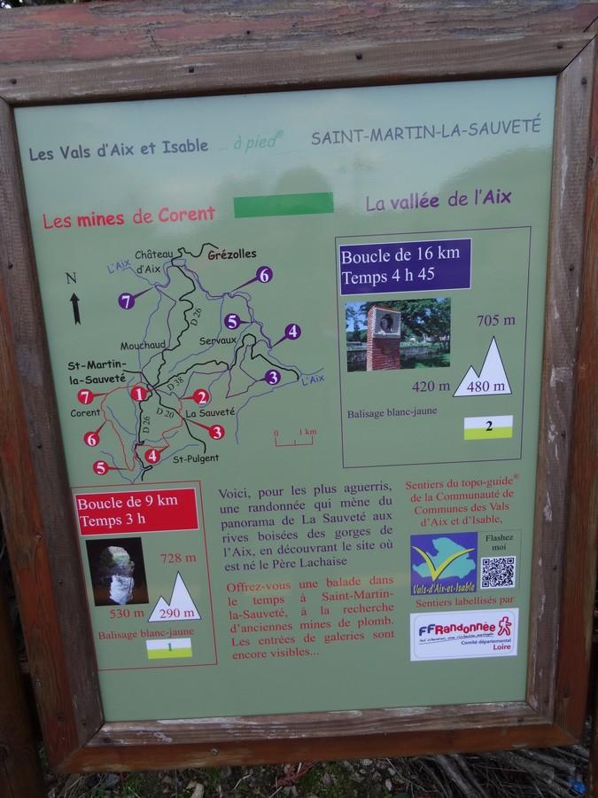 Vals D Aix Et D Isable Circuit De La Vallee De L Aix Randonnee Monts Du Forez
