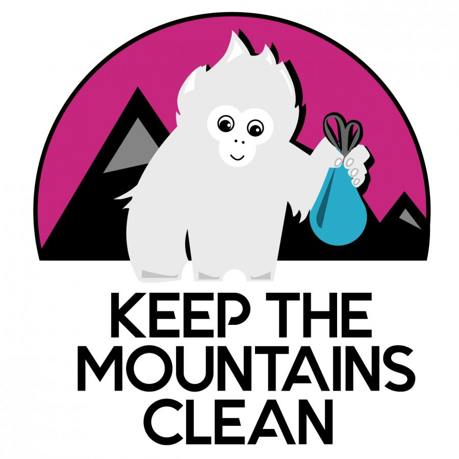Logo Keep The Mountains Clean © Altituderando