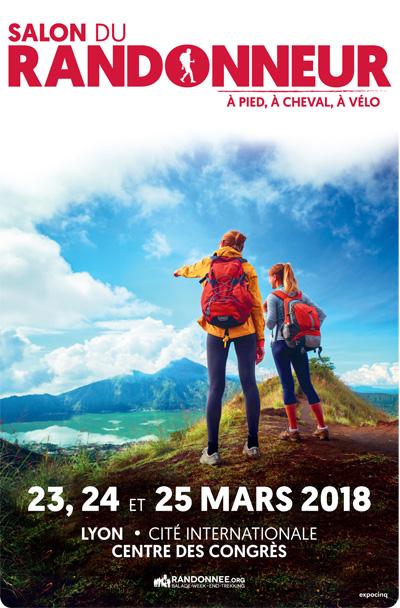 Salon du randonneur lyon du 23 au 25 mars 2018 for Salon du randonneur lyon