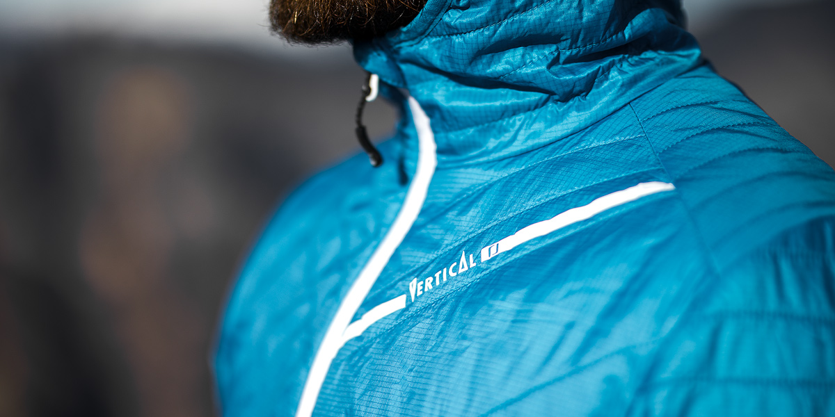 Doudoune Vertical - HYBRID Jacket ACTIV' Mountain - Test