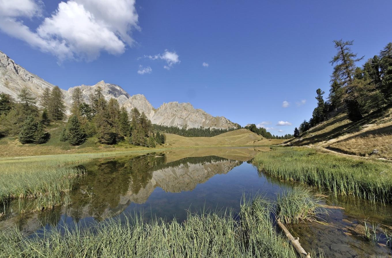 Lac miroir et lac sainte anne par ceillac randonn e for Lac miroir queyras