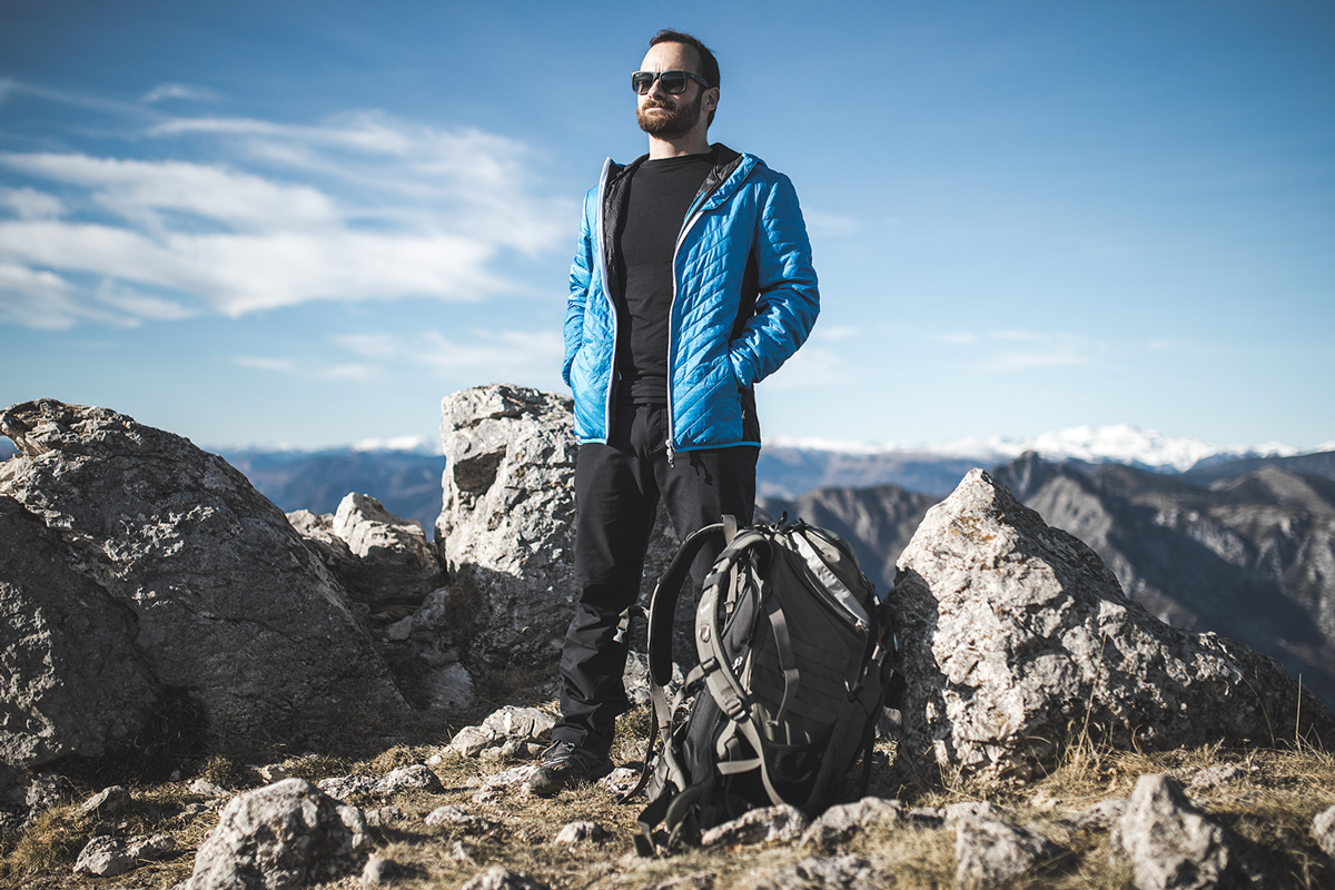 Doudoune Vertical - HYBRID Jacket ACTIV' Mountain - Comparatif