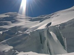 Des crevasses gigantesques