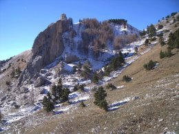 Le Pain de Sucre ou Les Archers le Col du Grand Vallon