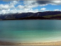 pano plage lac