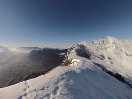 Panorama grand angle au sommet (Photo GoPro)