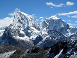 Sommets himalayens.