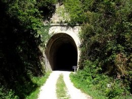 Tunnel du Coulet.