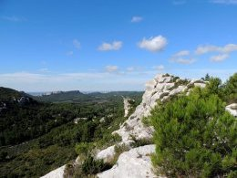 Alpilles occidentales.