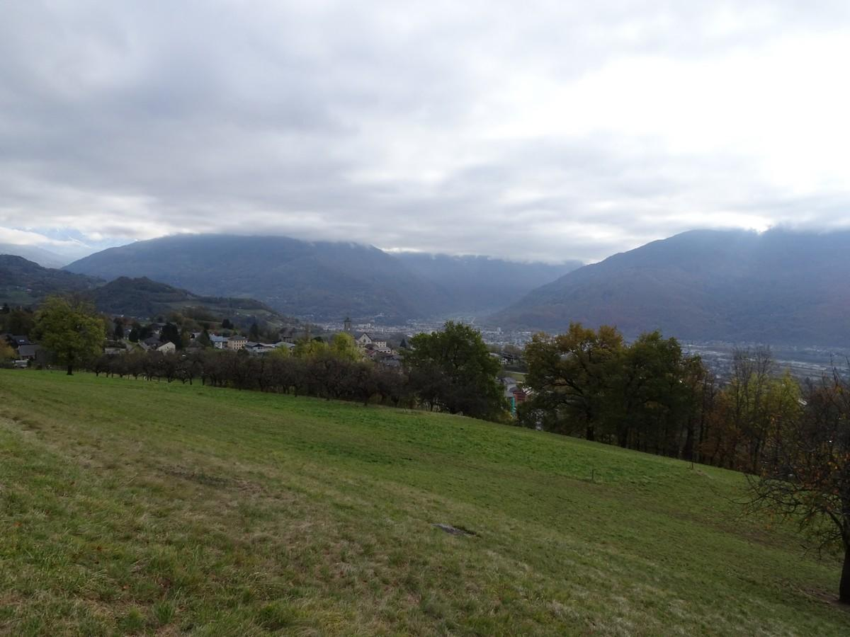 Le Cartherin - Vue sur Albertville