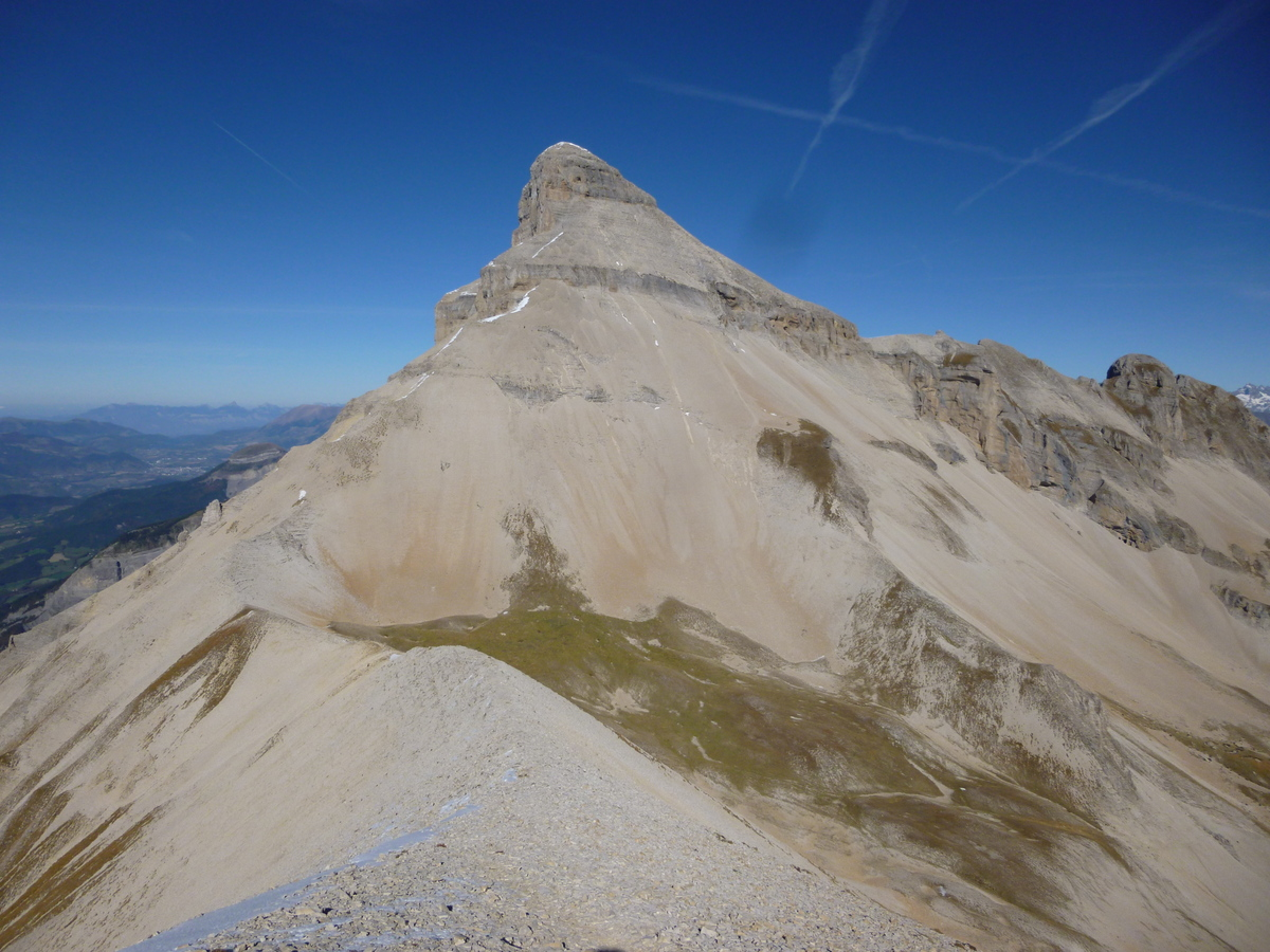 Grand Ferrand (2758m) par la voie normale - Randonnée Devoluy : Sortie du 22 octobre 2016