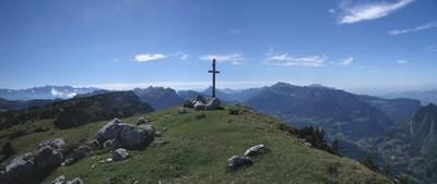 La croix au Sommet du Pinet ou Le Truc