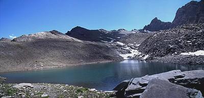 Le Lac d'Asti sous le Col d'Asti
