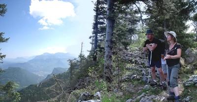 Regard sur la Vallée de l'Isère et le Voironnais
