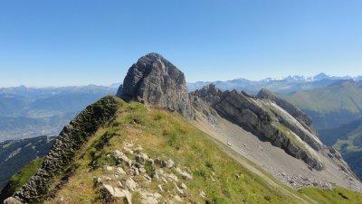 La Pointe du Midi depuis la Pointe de Balafrasse