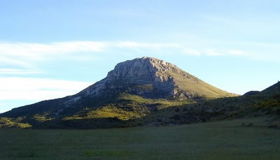 Le Mont Chiran.