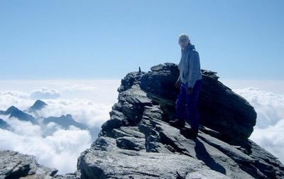 Une indéniable impression d'altitude règne au sommet de l'Ouille d'Arbéron.