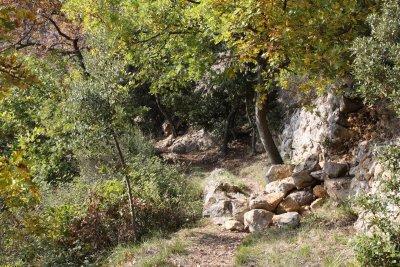 Des couleurs d'automne superbes, deux baous et un château : un joli circuit !