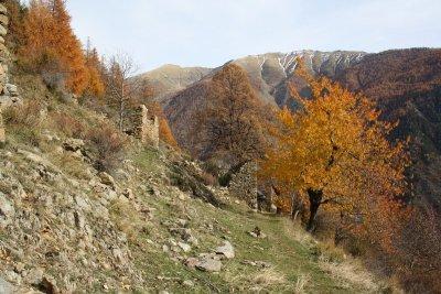 Un parcours sauvage sublimé par l'automne et ses couleurs dramatiques...