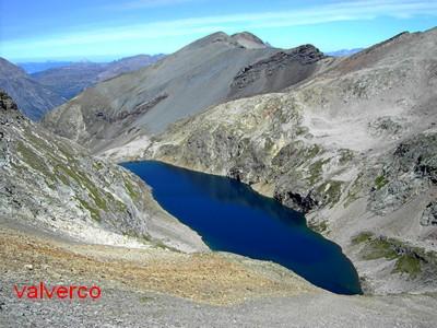 Lac du Vallon depuis le sommet du Neyrard