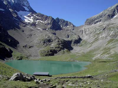 Lac de la Muzelle Col de la Muzelle