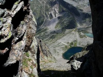 Brèche sur le Lac de la Folle