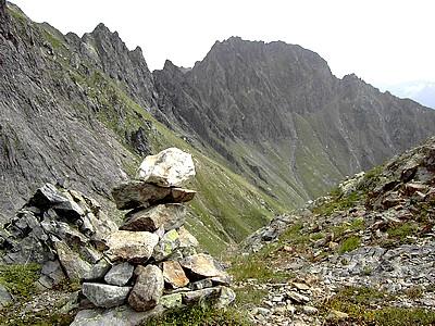 Cairn du Col de la Petite Vaudaine