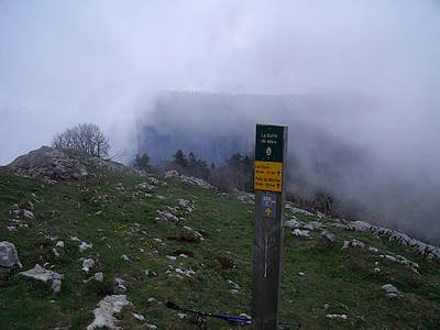 Au sommet de La Buffe