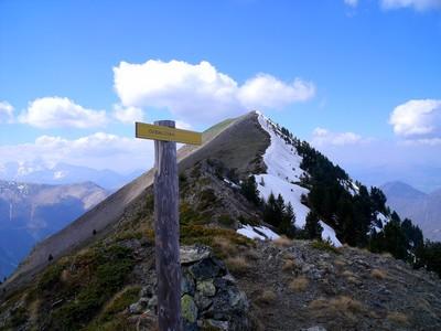 La Tête du Vet depuis le Col Blanc