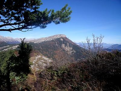 Rocher du Baconnet depuis l'Aubeyron