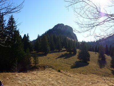 La Petite Vache, vue du Col de la Charmille