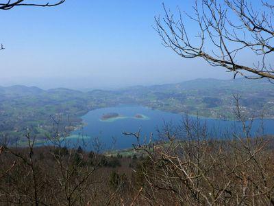 Le lac d'Aiguebelette