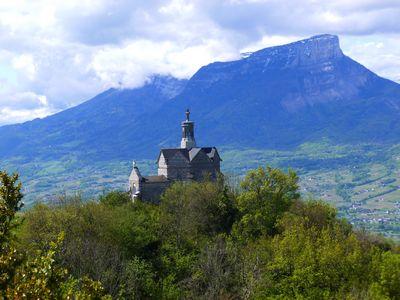 La chapelle vue du belvédère