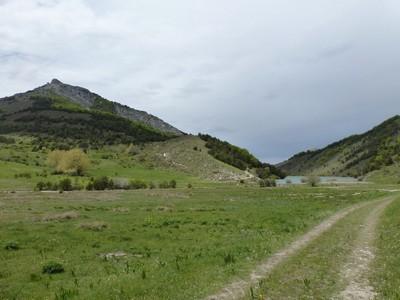 Pic d'Aujour et Lac de Peyssier