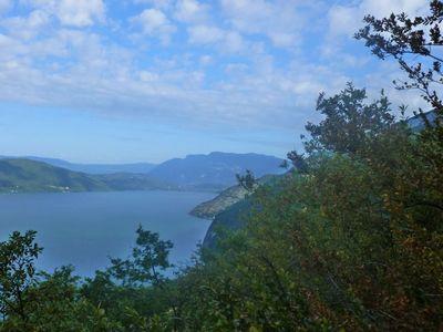 Le lac du Bourget côté Chautagne