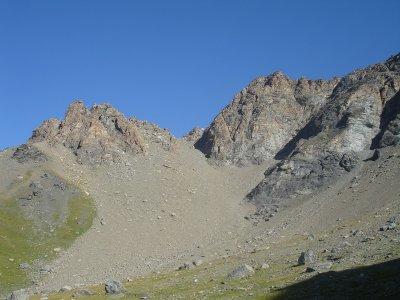Le Col du Lou (3042m).