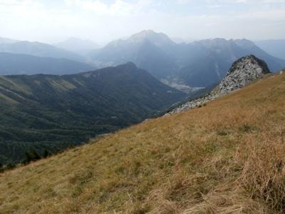 Vallée du Sapey et Tournette depuis le sommet