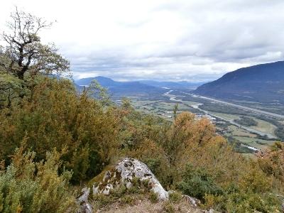 La Chautagne et le Rhône depuis Barvy