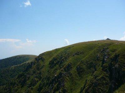 Le Hohneck et le col de Schaeferthal