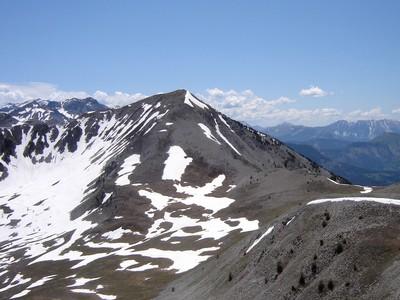Le Pic de Bernardez, vu depuis le Pic de Savernes.