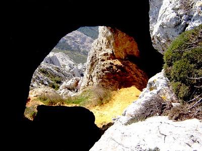 La grotte aux hirondelles.